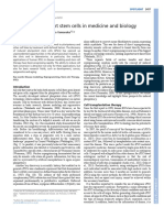 Induced Pluripotent Stem Cells in Medicine and Biology