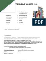 Unidad de Aprendizaje Agosto Nº 06