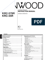 kenwood KRC-479R (EN) manual