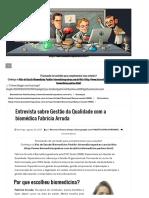 Entrevista Sobre Gestão Da Qualidade Com a Biomédica Fabrícia Arruda _ Biomedicina Padrão