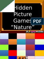 Hidden Picture Games Nature