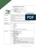 34 UGD SOP Mendampingi Dokter Visite PKM Wongsorejo