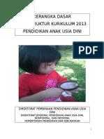 Pedoman Kurikulum PAUD 2013