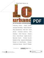 Ramos a m Lo Urbano en 20 Autores Contemporc3a1neos