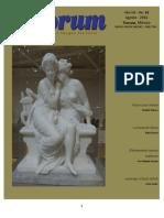 La Puerta del Infierno. Revista Quórum No. 62