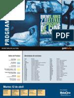 Grilla Buenos Aires 7 Festival de Cine Independiente