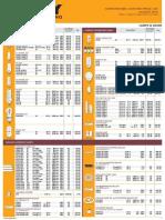 Firefly Price List 2015