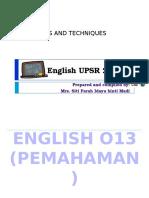 English Year 6 2016