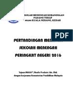 MENU SMK Padang Terap Pertandingan Memasak 2016
