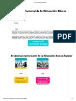 Currículo Nacional _ MINEDU