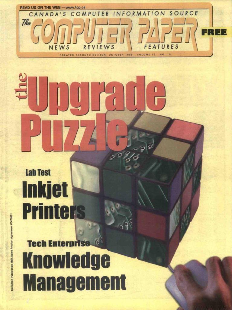 1999 10 The Computer Paper Ontario Edition Hewlett Packard