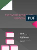 EXCITACIÓN RITMICA DEL CORAZÓN notas