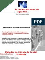 Cálculo de Las Instalaciones de Agua Fría (1)
