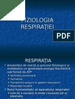 Fiziologia Respiratiei Curs 1 M