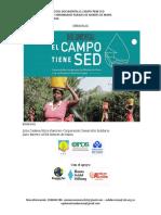 RELATORÍA -Derecho Al Agua en Comunidades Rurales Montes de María_Documental El Campo Tiene Sed