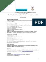 Programa y Ponencias Actualizadas 3er Congreso 18-04-2016
