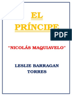 Ensayo Nicolas Maquiavelo