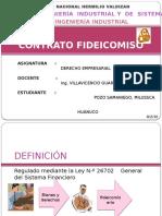 Contrato Fideicomiso - Pozo Samaniego
