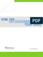 HTML Tips for Email Guide
