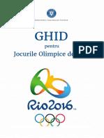 Ghid pentru Jocurile Olimpice de Vară de la Rio de Janeiro