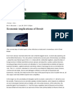 Economic Implications of Brexit _ Brookings Institution
