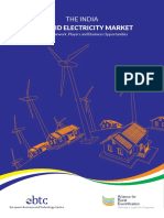 The India Off-grid Electricity Market EBTC-ARE Report