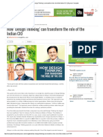 How 'Design Thinking' Can Transform the Role of the Indian CIO _ Express Computer