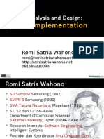 Romi - System Analyst and Design #05 Implementation
