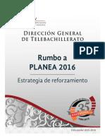 Cuadernillo PLANEA 2016. 4 Sept 2015