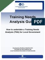 Training Needs Analysis (TNA) Guide