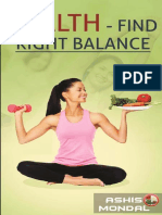 Health – Find Right Balance