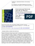 The Multi-layered Citizen