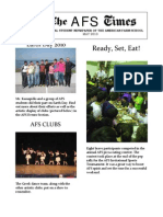 AFS Newspaper May 2010