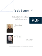 2016 Scrum Guide Spanish