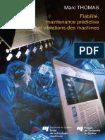 Fiabilité, maintenance prédictive et vibration des machines