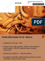 Premier Steel Complex Private Limited