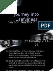 Journey Into Usefulness