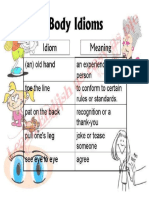 Body Idioms PDF