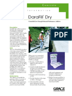 Darafill Dry_Product Data Sheet