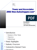 2002 Internet Car Buyers - JDPowers
