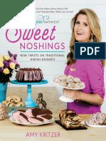 Sweet Noshings - New Twists on Traditional Jewish Desserts