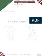 Grand Finals - Hyd Royals vs Bhel Spartans