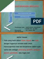 Morfologi Present Kata Tugas