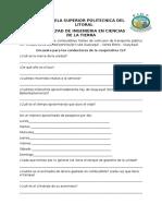 Encuesta para los conductores de la cooperativa CLP.docx