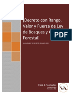 Ley de Bosques y Gestion Forestal