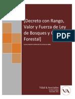 Ley de Bosques y Gestion Forestal