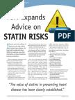 statin risks