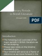 Literary Periods British Lit Web