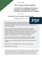United States v. Baxter International, Incorporated, 345 F.3d 866, 11th Cir. (2003)