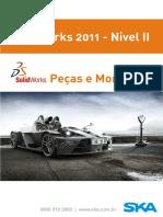 Apostila SolidWorks Nivel II - Pecas e Montagens.pdf